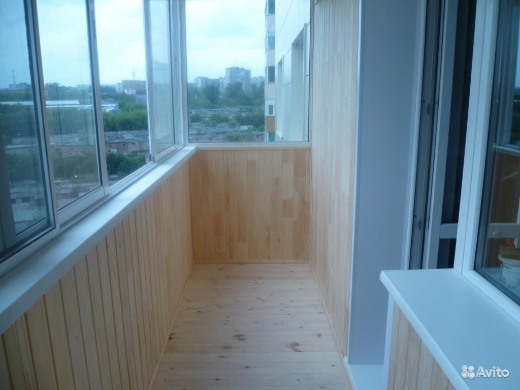 Отделка балконов и лоджий - balkonsk.