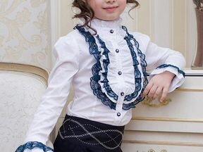 Школьная Блузка 2013-2014 Детская Картинки