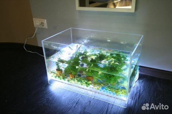 Освещение аквариума из светодиодов своими руками