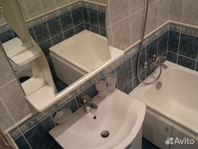 Ремонт малогабаритной ванной комнаты фото