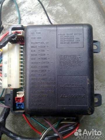 Блок сигнализации с датчиками