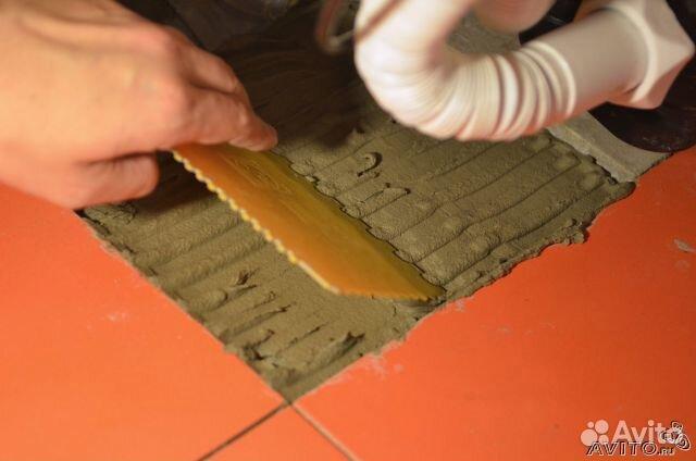 Как сделать клей для плитки видео