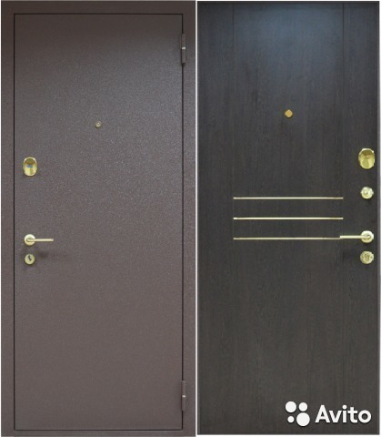 посоветуйте недорогую стальную дверь