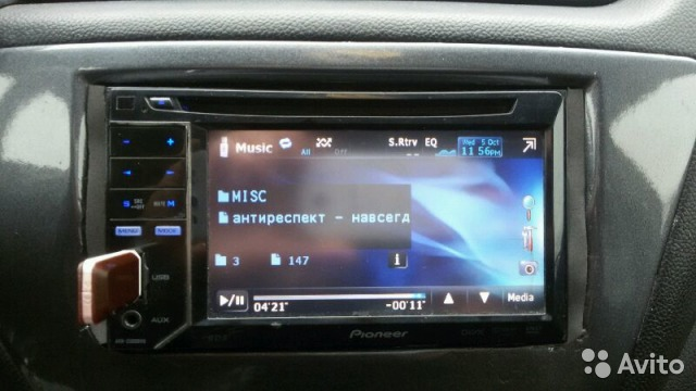 Фото: 4 pioneer магнитола 2дин с навигацией