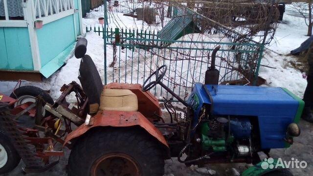 Самодельный трактор на базе т 25