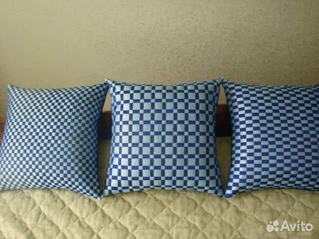 Подушки своими руками схемы из атласных лент 22