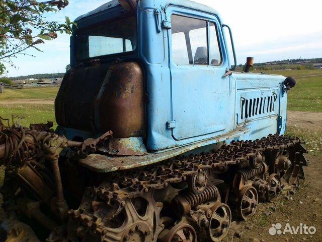 Трактор гусеничный Т-70С купить в Самарской области на.