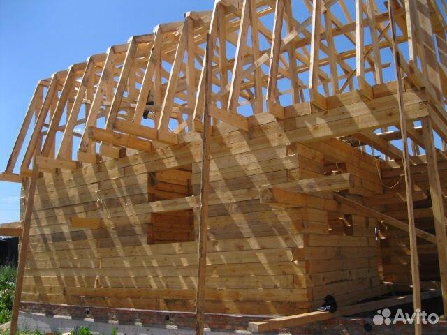 Строим дом из бруса своими руками от фундамента до крыши фото 36