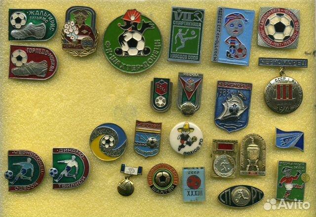 Есть другие значки по темам футбол, футбольные клубы. Объявлен