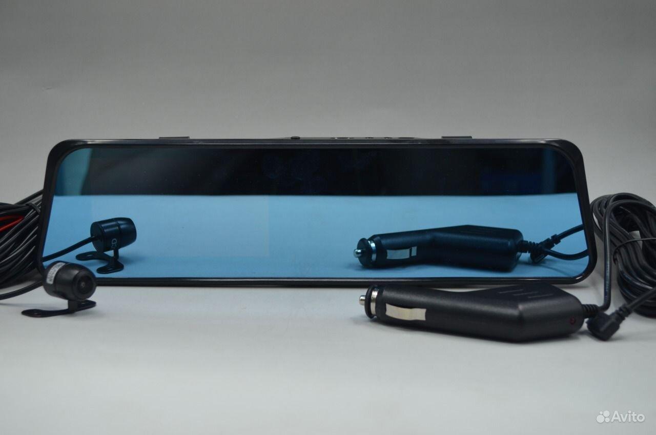 Зеркало видеорегистратор с двумя камерами