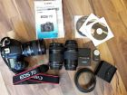Canon EOS 7D Kit + 17-40mm f/4L+ 75-300mm f/4-5.6