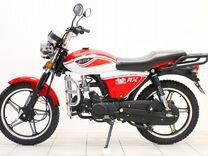 Мопед Alpha RX 110 см3. red/white, без гаи — Мотоциклы и мототехника в Москве