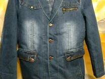 джинсовый пиджак - Купить мужскую одежду в Москве на Avito 2759eb5fb96