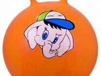 """Мяч-попрыгун """"Слоненок"""" GB-401, 45 см, с рожками"""