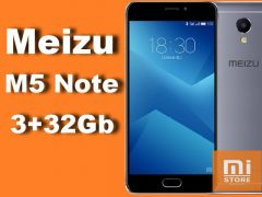 Meizu M5 Note 3Gb+16Gb / 3Gb+32Gb