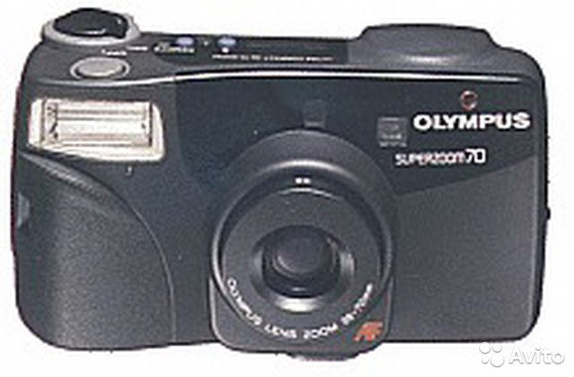 Olympus superzoom 70 Made in Japan— фотография №1