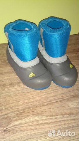 Сапожки детские adidas новые