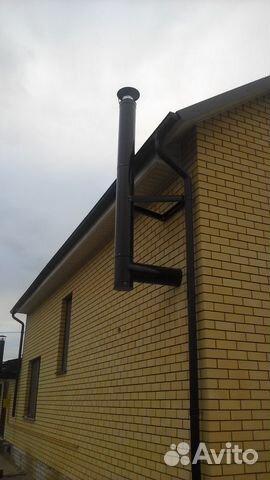Дымоход 41 км расстояние от коаксиального дымохода до потолка