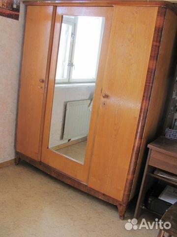 Шкаф распашной трехстворчатый, санкт-петербург регион, санкт.