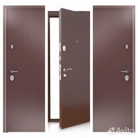 железные двери входные холодные
