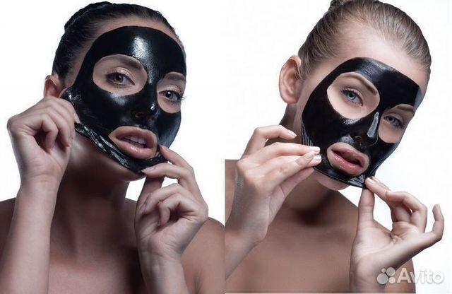Желатиновая маска для лица угрей