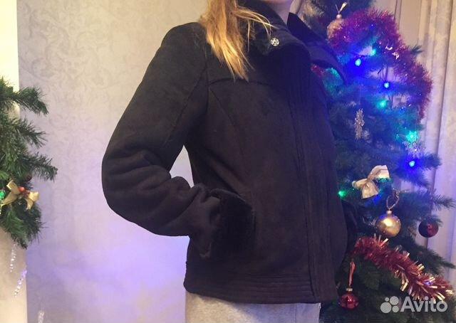 Женская дубленка Armani Jeans   Festima.Ru - Мониторинг объявлений 8710a70d3a5