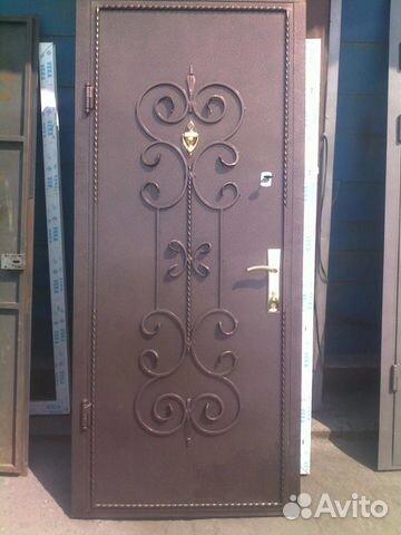 двери железные металические
