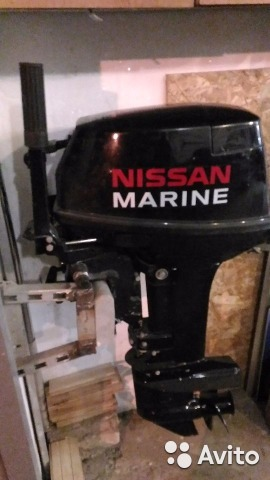 обслуживание лодочных моторов ниссан