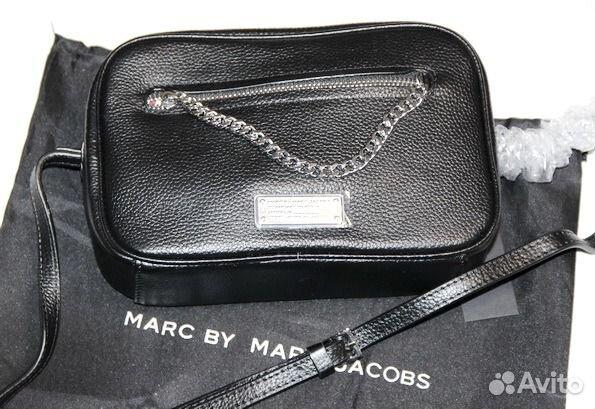 637ad6341216 Женская кожаная сумка M. Jacobs mini bag black купить в Москве на ...