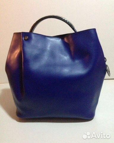Кожаный рюкзак Диор коричневый - купить в Москве и