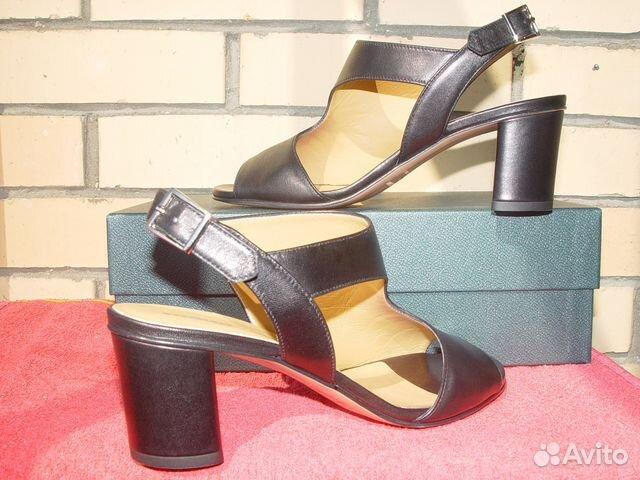 Новые pakerson пакерсон черные туфли-босоножки 086acde54a0ba