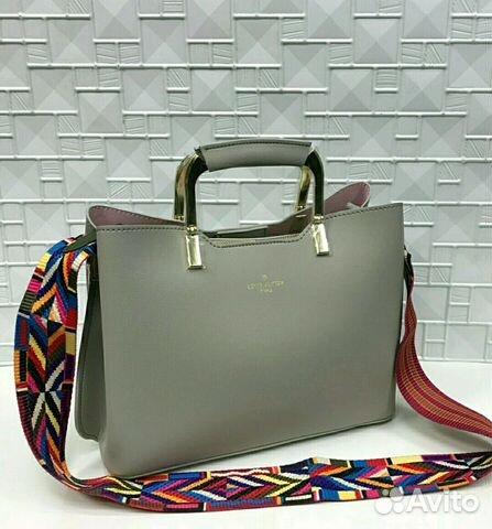 51a3ed48892f Новая женская сумка Louis Vuitton серая   Festima.Ru - Мониторинг ...