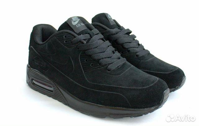 2bdf12d9db46 Кроссовки Nike Air Max 90 VT Black замша(44 EUR) купить в Санкт ...