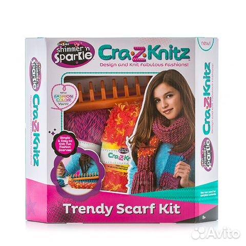 Crazy Knitz набор для вязания Festimaru мониторинг объявлений