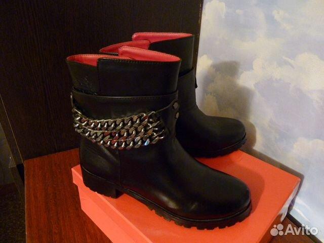Ботинки hermes. Зима, межсезон 89139266645 купить 1