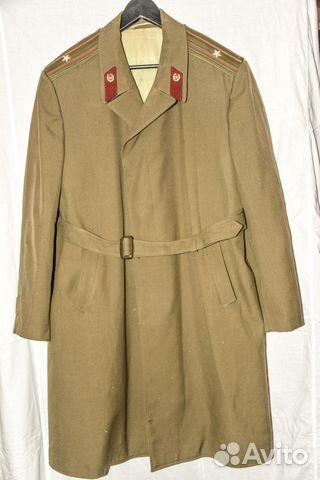 Военное форменное летнее пальто СССР  65d609f34e0d4