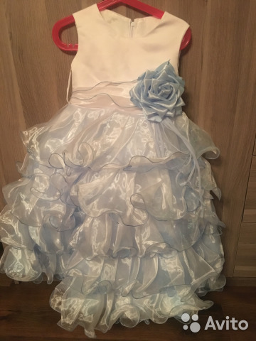 cdff8f79c91 Платье для девочки праздничное