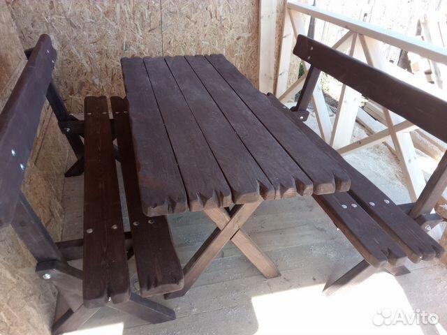 Стол со скамейками 89131837164 купить 5