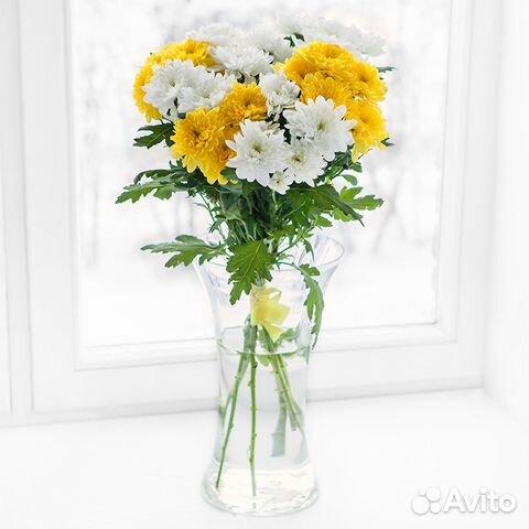 Желтые хризантемы (от 15 штук) | 480x480
