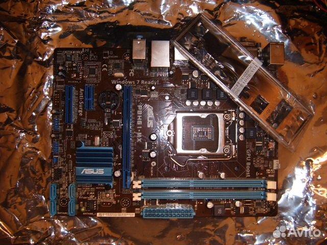 Asus P8H61-MX Socket 1155