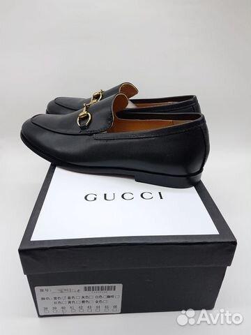 Лоферы мужские Gucci 2 цвета купить в Москве на Avito — Объявления ... 6b89dc173e3