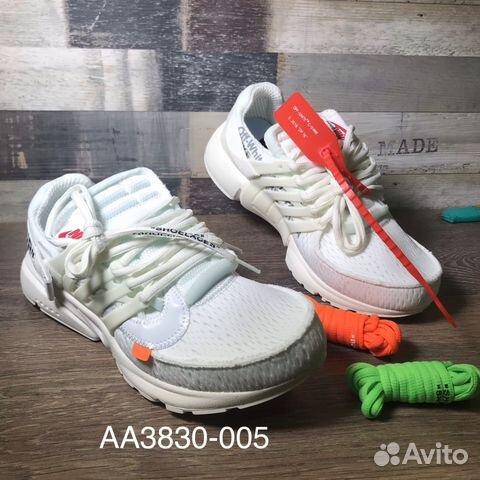 a606cede Кроссовки мужские Nike Air Presto x Off-White купить в Санкт ...
