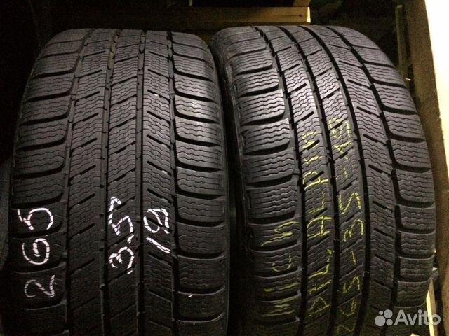 89211101675 Michelin Pilot alpin 265/35/19 (4шт) как новые