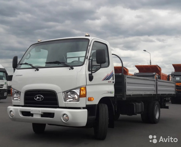 1598e90154b35 Бортовой Hyundai HD78 купить в Псковской области на Avito ...