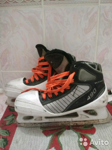 Коньки хоккейные вратарские 89109609099 купить 1