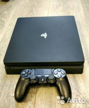 Sony PS4 slim 1TB +игры