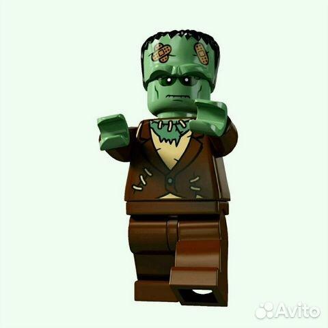 Lego Minifigures 4 серия Монстр (Франкенштейн) купить в Москве | Хобби и  отдых | Авито