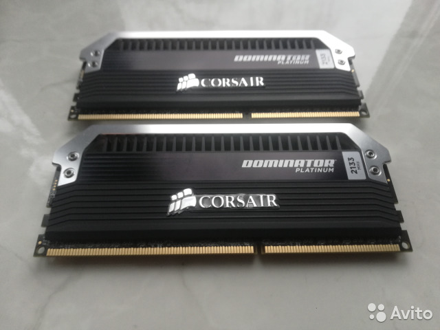 DDR3 Corsair 8GB (2x4) 2133MHz Cl9— фотография №1