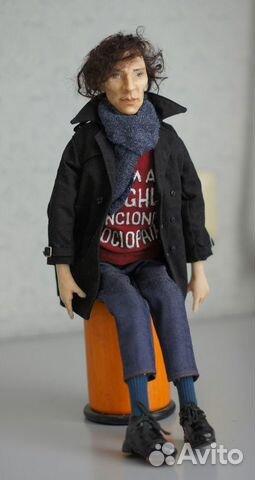Авторская кукла Шерлок(Бенедикт Камбербэтч) 89236371813 купить 6