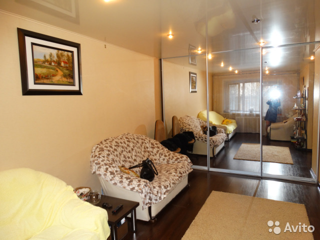 Продается однокомнатная квартира за 1 850 000 рублей. г Курск, ул Мирная, д 19А.